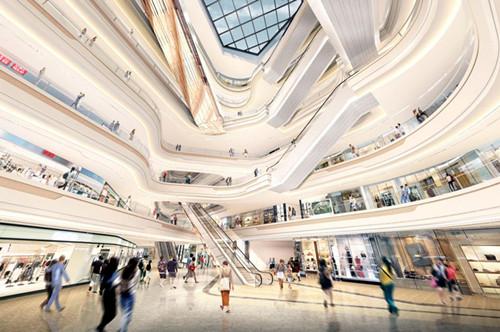 """本埠要闻  以""""首座体验式水岸潮圣购物乐园""""为定位的杭州大悦城,购物"""